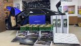 呼和浩特汽车隔音改装丰田12代皇冠改装大能超级盾隔音,欧卡改装网,汽车改装