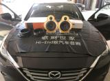 常州汽车音响改装马自达CX-4改装歌剧世家VS32两分频喇叭,欧卡改装网,汽车改装