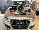 云浮汽车音响改装 奥迪Q5改装Venom 6.4二分频喇叭,欧卡改装网,汽车改装