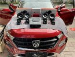 云浮汽车音响改装 宝骏510改装JBL二分频喇叭,欧卡改装网,汽车改装