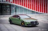 石家庄汽车改色贴膜 奥迪A7贴索诺玛绿改色膜,欧卡改装网,汽车改装