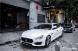 13款玛莎拉蒂总裁改装新款前脸+21寸轮毂,欧卡改装网,汽车改装