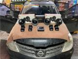 云浮汽车音响改装 日产骐达改装JBL二分频喇叭,欧卡改装网,汽车改装