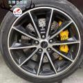 [野马刹车升级]Brembo GT6大六活塞卡钳,霸气制动,欧卡改装网,汽车改装