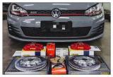 德州汽车刹车改装 大众MK7 GTI改装AP9660卡钳+BELFE刹车盘,欧卡改装网,汽车改装