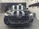 石家庄汽车轮毂改装 奥迪Q8改装锻造轮毂+倍耐力轮胎,欧卡改装网,汽车改装