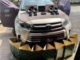 云浮汽车音响改装 丰田汉兰达改装JBL 61CF二分频音响,欧卡改装网,汽车改装