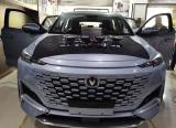 重庆汽车音响改装 长安UNIK改装德国鼓动爱发系列两分频喇叭,欧卡改装网,汽车改装