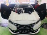 广州汽车音响改装 长安逸动改装MTX 265S二分频+久号10寸低音系统,欧卡改装网,汽车改装
