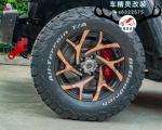 Jeep牧马人刹车改装前轮AP9040大六和后轮Brembo四活塞,欧卡改装网,汽车改装