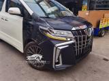 老款丰田埃尔法改装新款大包围,欧卡改装网,汽车改装