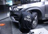 杭州汽车改装 奔驰GLE改装几何多光束大灯+香氛负离子系统,欧卡改装网