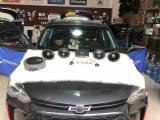 呼市汽车音响改装 雪佛兰沃兰多改装漫步者GF651C喇叭,欧卡改装网,汽车改装