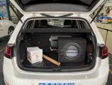 佛山汽车音响改装 大众高尔夫改装美国蜘蛛精12寸低音,欧卡改装网,汽车改装