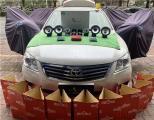云浮汽车音响改装 丰田凯美瑞改装洛克力量R653三分频喇叭,欧卡改装网,汽车改装