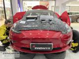 上海汽车音响改装 特斯拉model 3改装德国彩虹SL pro三分频喇叭,欧卡改装网,汽车改装