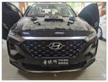 昆山汽车音响改装 现代新胜达改装马来西亚爱威V9MAX,欧卡改装网,汽车改装