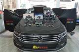 广州汽车音响改装 大众迈腾改装奔朗165ES+LM80中音三分频,欧卡改装网,汽车改装