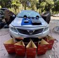 云浮汽车音响改装丰田卡罗拉改装德国海螺3系两分频系统音响,欧卡改装网,汽车改装