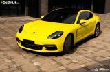 石家庄汽车改色贴膜 帕拉梅拉贴AX柠檬黄改色膜,欧卡改装网,汽车改装