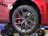 [特斯拉Model 3刹车改装]AP9562六活塞、搭配380MM鱼钩盘,欧卡改装网,汽车改装