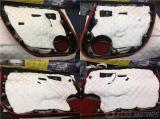 东莞汽车隔音改装 特斯拉Model S改装必拓环保隔音+怡然座椅通风,欧卡改装网,汽车改装