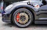 [大众高尔夫GTI刹车改装]AP8530大四卡钳,帅气制动,欧卡改装网,汽车改装