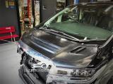 丰田埃尔法改装Rowen碳纤维机盖,欧卡改装网,汽车改装