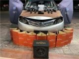云浮汽车音响改装 比亚迪M6改装劲浪两分频+联想黑金音频处理器,欧卡改装网,汽车改装