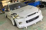 英菲尼迪Q50汽车外观改装LB包围套件,欧卡改装网,汽车改装