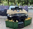 云浮汽车音响改装 丰田凯美瑞改装德国海螺两分频喇叭,欧卡改装网,汽车改装
