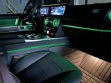 杭州汽车内饰改装 奔驰G350改装涡轮空调出风口氛围灯,欧卡改装网,汽车改装