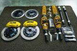 本田十代思域改装TEI Racing前P40NS后加大碟套装+SS运动避震套件,欧卡改装网,汽车改装