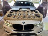 云浮汽车音响改装 宝马X4改装德国爱意仕专车专用全套喇叭,欧卡改装网,汽车改装