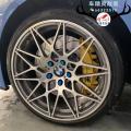 [宝马5系刹车改装]AP9560大六活塞卡钳,强劲制动撩妹,欧卡改装网,汽车改装