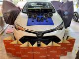 云浮汽车音响改装 丰田雷凌改装ZRN两分频喇叭,欧卡改装网,汽车改装