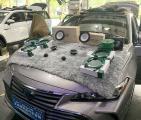 佛山汽车音响改装 丰田亚洲龙改装德国零点GZHA 4200XII四路功放,欧卡改装网,汽车改装