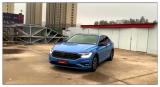 德州汽车改色贴膜 大众速腾贴阿布扎比蓝车身改色膜,欧卡改装网,汽车改装