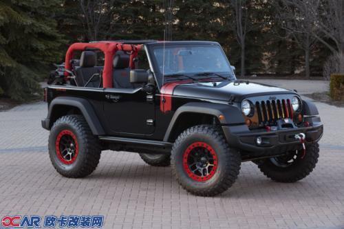 jeep三款改装牧马人亮相easter jeep safari