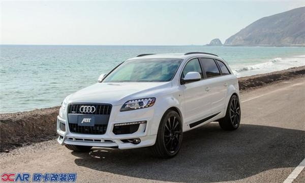 abt改装现款奥迪q7 新款车型上市在即