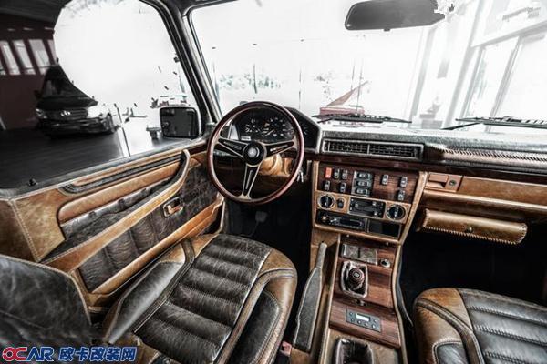 近日,一家专注于汽车内饰改装的公司——carlex design,就针对上世纪