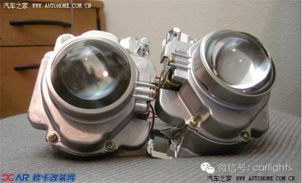 凯迪拉克ATS大灯改顶级海拉5双光透镜海拉四安定
