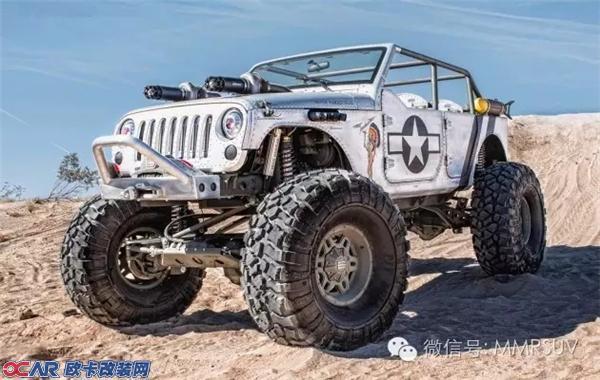 重口味金属风格改装 jeep牧马人改装鉴赏