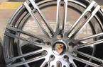 保时捷卡宴升级21寸锻造轮毂镜面款,欧卡改装网