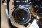 温州汽车音响改装吉利帝豪ev450音响改装优化升级,欧卡改装网