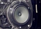 奔驰GLE改装升级四门喇叭及四门隔音降噪,欧卡改装网