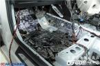 武汉宝马2系全车俄罗斯STP隔音降噪案例,欧卡改装网