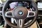 合肥汽车改装 宝马G底盘车型改装运动方向盘搭配M红色按键,欧卡改装网