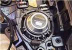 厦门汽车音响改装  奔驰C200改装德国MATCH汽车音响,欧卡改装网