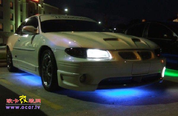 克莱斯勒大捷龙汽车底盘灯改装,欧卡改装网,汽车改装